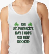 What I want on St. Patrick's Day Men's Tank Top