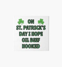 What I want on St. Patrick's Day Art Board