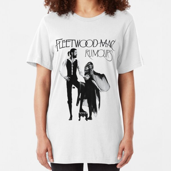 yandie rumours fleetwood tour 2019 logo Slim Fit T-Shirt
