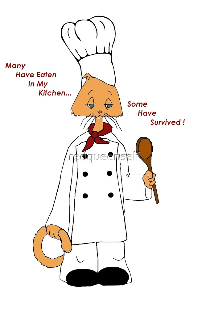 Kitty Chef by redqueenself
