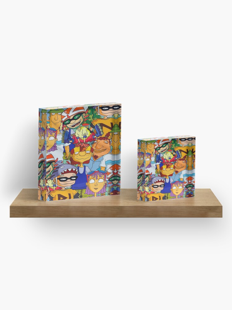 Alternate view of Rocket Power Acrylic Block