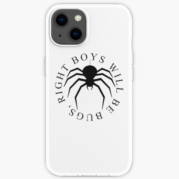 Boys will be bugs - Spider only iPhone Soft Case