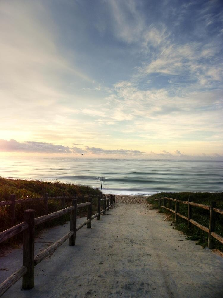 Old Bar Beach, Morning - HDR by Tyhe  Reading