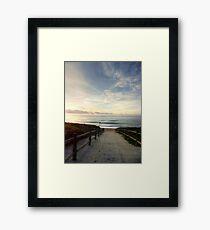 Old Bar Beach, Morning - HDR Framed Print