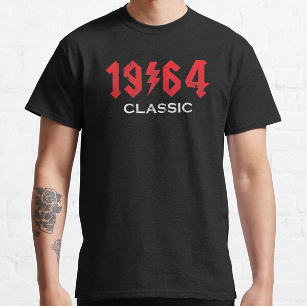 1964 Rock N Roll Birthday Git Idea Classic T-Shirt