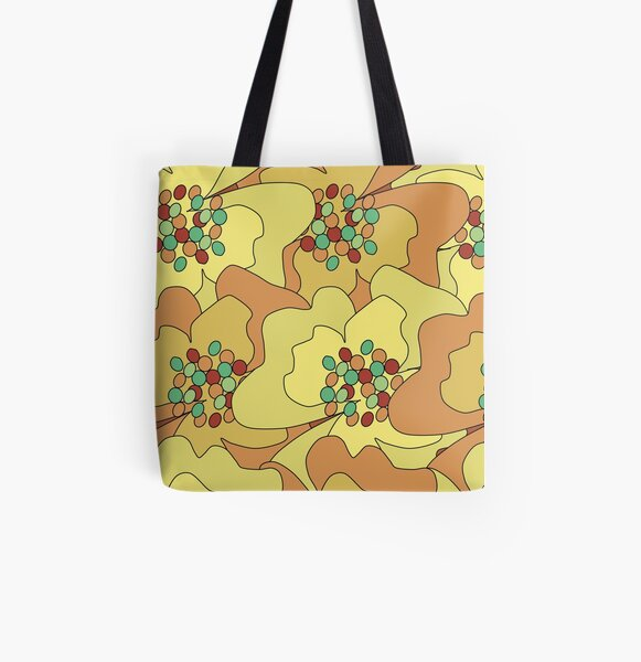 Early Spring Passion Flowers 2 All Over Print Tote Bag