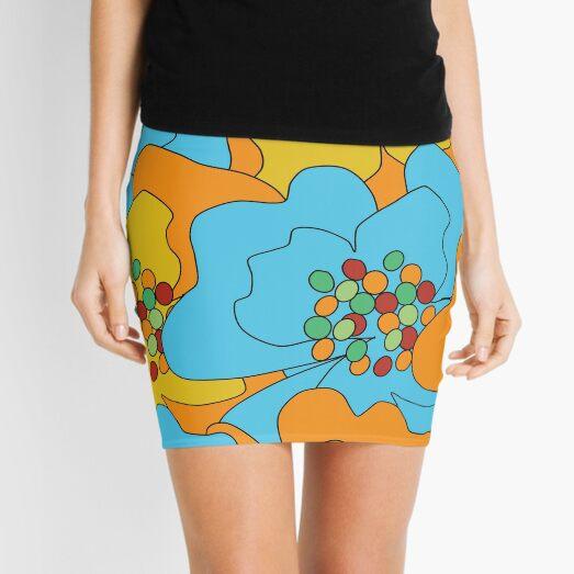 Summer Flowers Delight 1 Mini Skirt