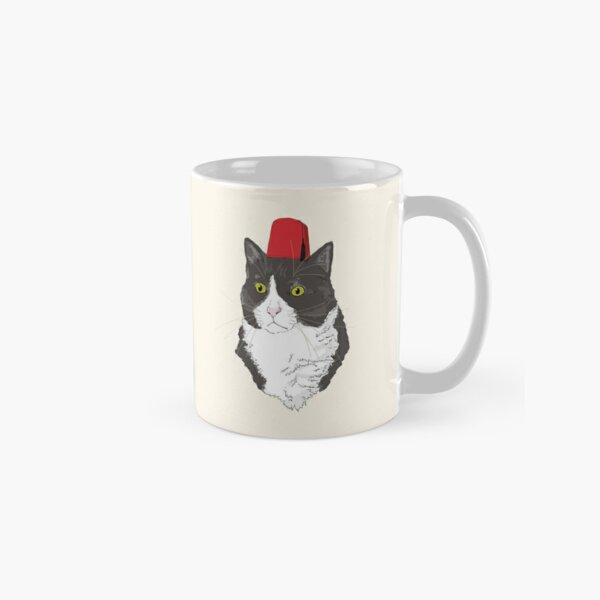 Fez Hat Cat Classic Mug