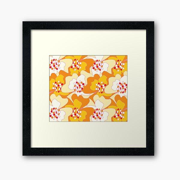 Summer Flowers Delight 2 Framed Art Print