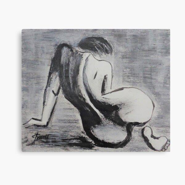 Curves 38 - Female Nude Canvas Print