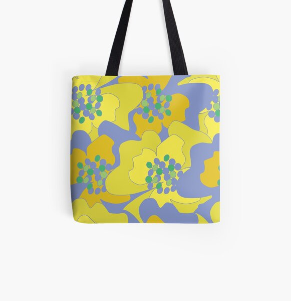 Lovers Passion Flowers 1 All Over Print Tote Bag
