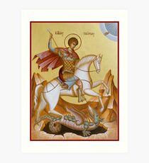 St George Art Print