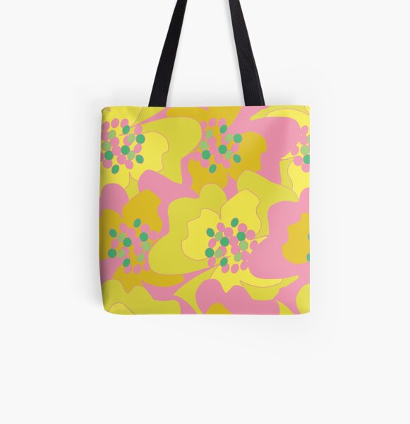 Lovers Passion Flowers 2 All Over Print Tote Bag