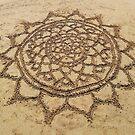 Sand Mandala by julieerindesign