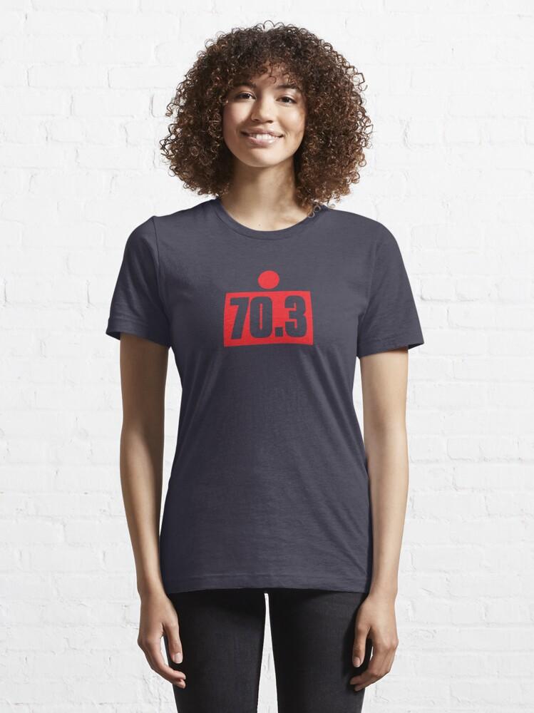 Alternate view of 70.3 Half Ironman Triathlon Graphic Essential T-Shirt