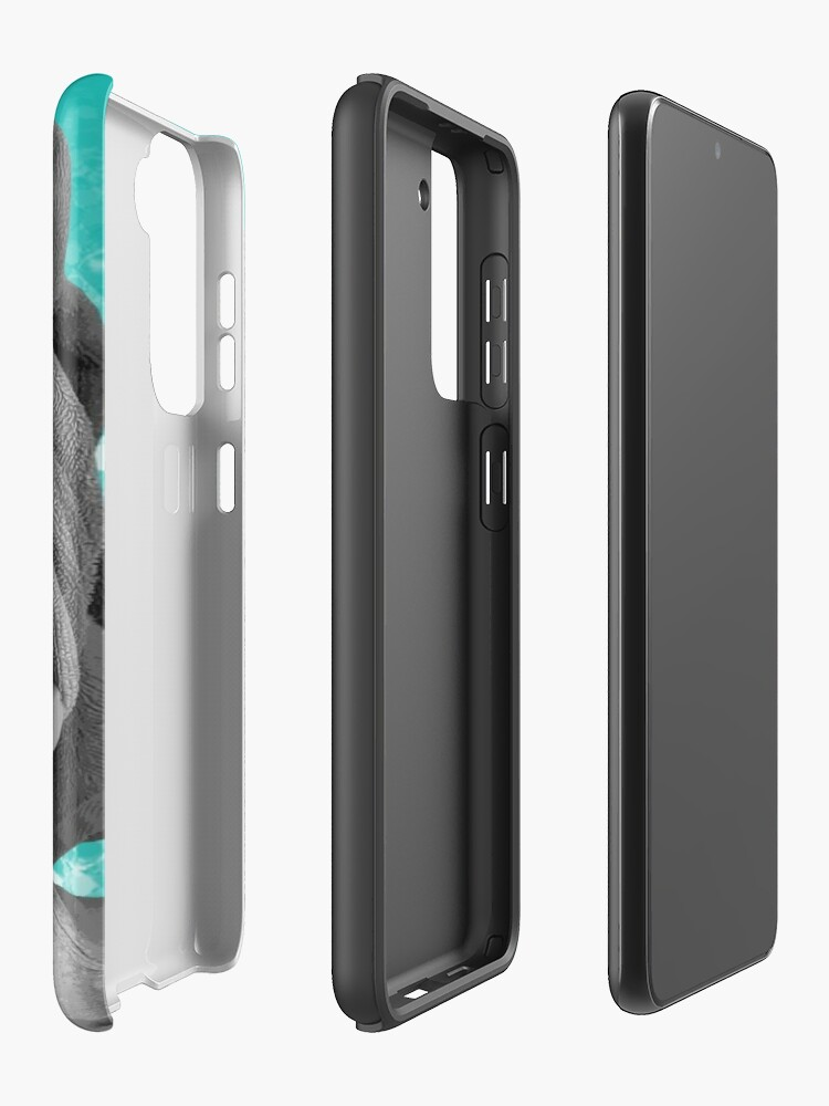 Alternate view of Future Black and White Movie Star Case & Skin for Samsung Galaxy