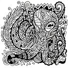 Patterned Octopus by Mlpart