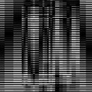 monochrome, design, pattern, abstract, horizontal, striped, no people, textured, retro style, in a row, backgrounds by znamenski