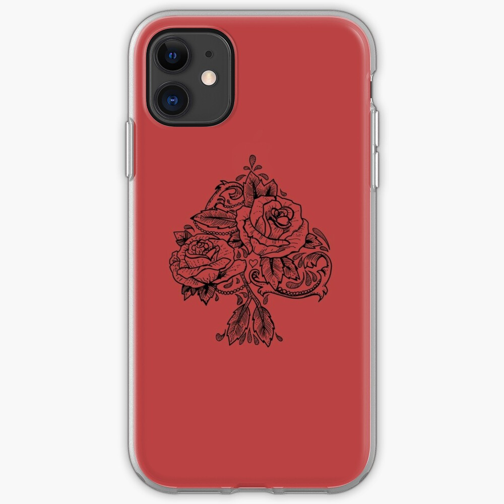 Flower Spade iPhone Case & Cover