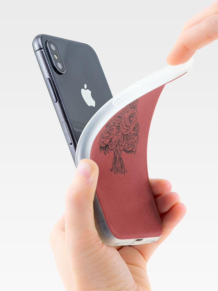 Alternate view of Flower Spade iPhone Case & Cover