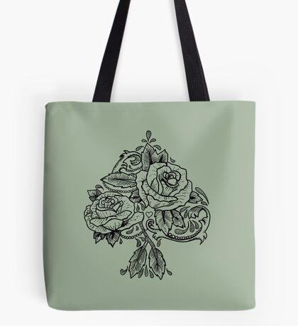 Flower Spade Tote Bag