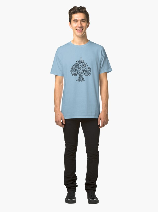 Alternate view of Flower Spade Classic T-Shirt