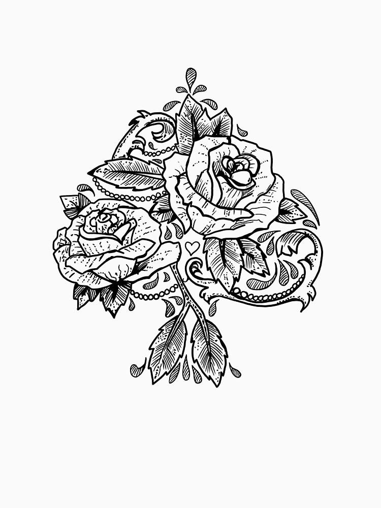 Flower Spade by fullrangepoker