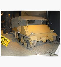 British Loyd Carrier Poster