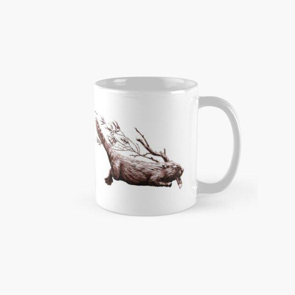 Swimming Beaver Mug  Classic Mug