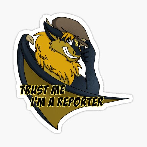 Vox - Trust me, I'm a reporter Sticker