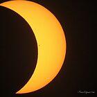 partial solar eclipse by LoreLeft27