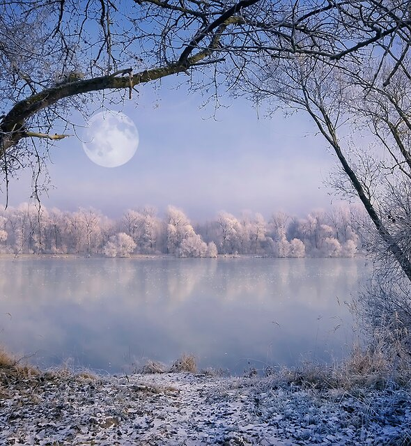 Draw Me A Moon by Philippe Sainte-Laudy