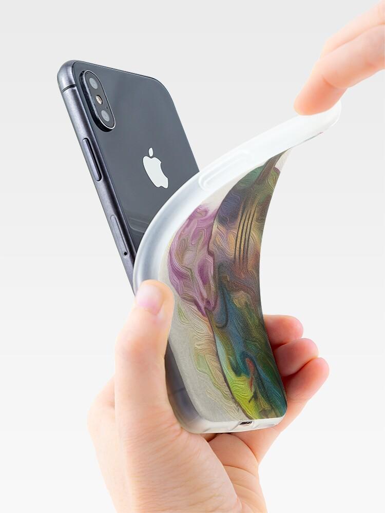 Alternate view of Caper Violin  iPhone Case