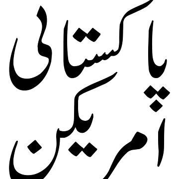 Pakistani American In Urdu by kamrankhan