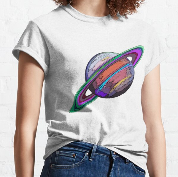 Saturn:  The Ringed Planet Classic T-Shirt