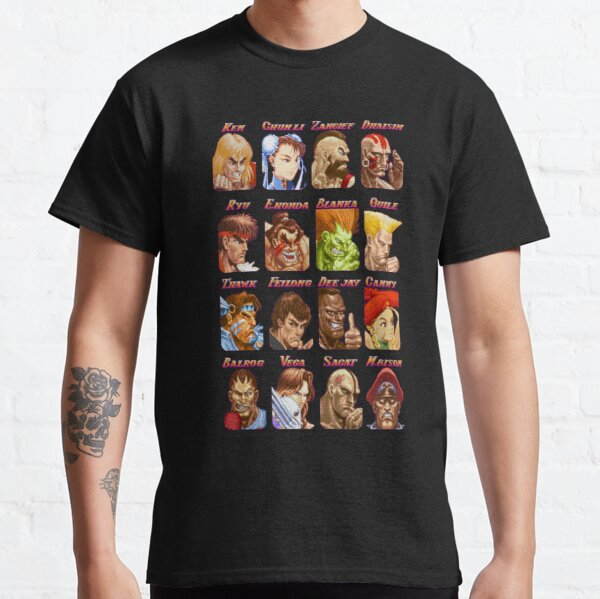 Street Fighter Select Camiseta clásica