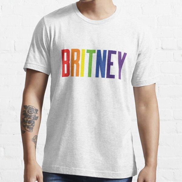 Britney Pride Rainbow T-shirt essentiel