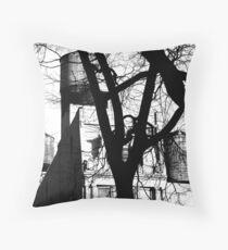 Untitled - WT B&W Throw Pillow