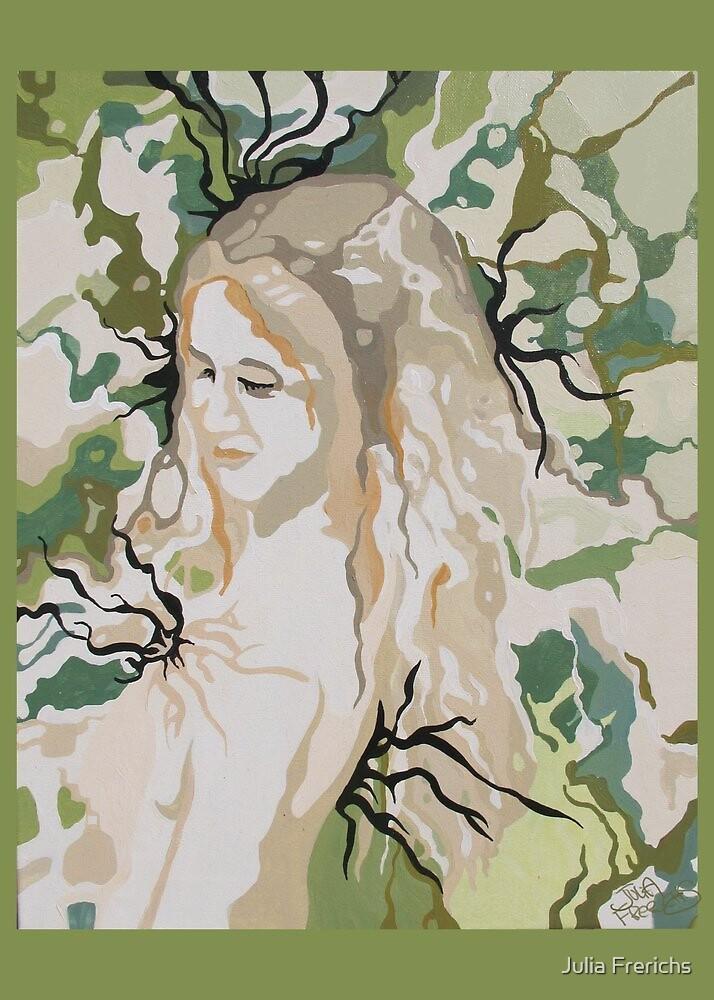 Haole Hawaiian Goddess by Julia Frerichs