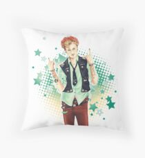 Punk!lock - Mycroft Throw Pillow