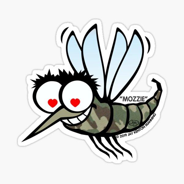 Mozzie Mosquito Sticker