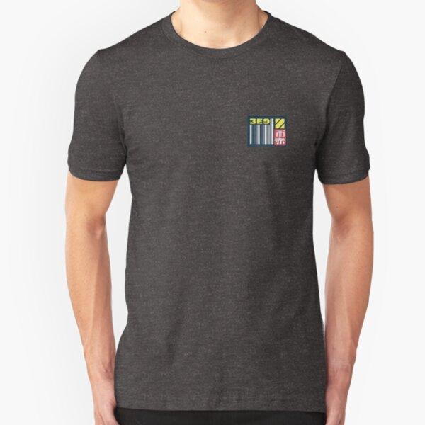 Blade Runner Sticker Slim Fit T-Shirt