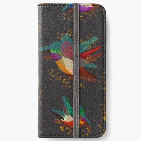 Humming Birds iPhone Wallet