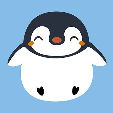 Kawaii Cute Penguin Design by happinessinatee