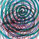 Spiral, pattern, abstract, creativity, shape, design, art, bright, decoration, futuristic, curve by znamenski