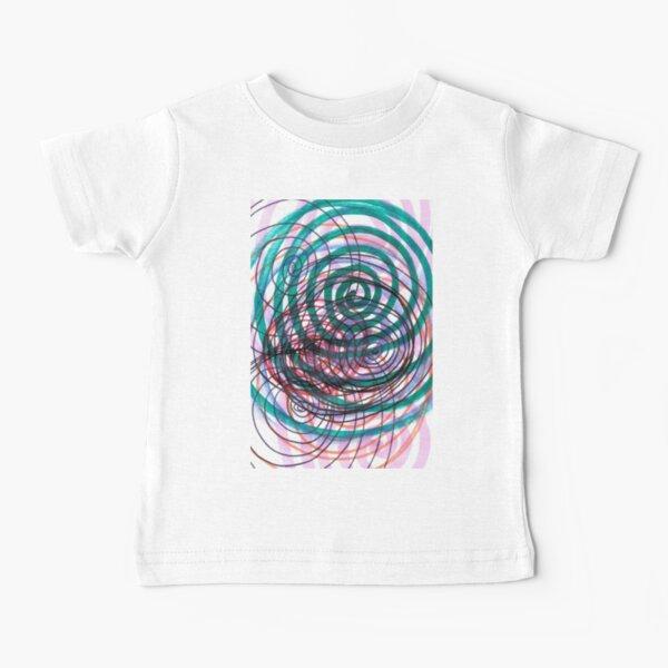Spiral, pattern, abstract, creativity, shape, design, art, bright, decoration, futuristic, curve Baby T-Shirt