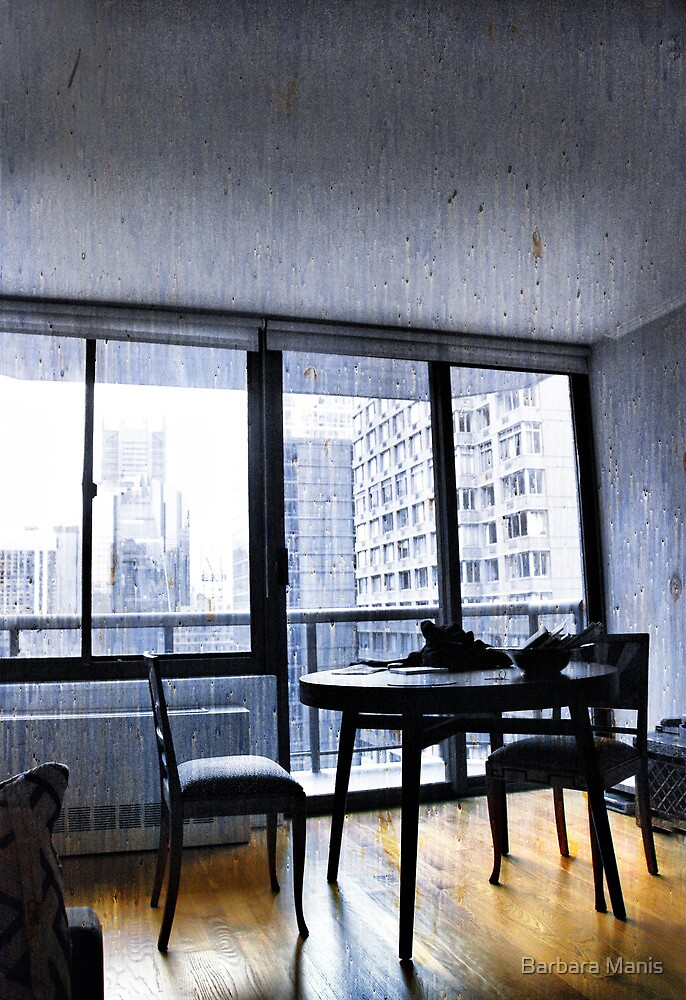 Apartment Living... Room with a View by Barbara Manis