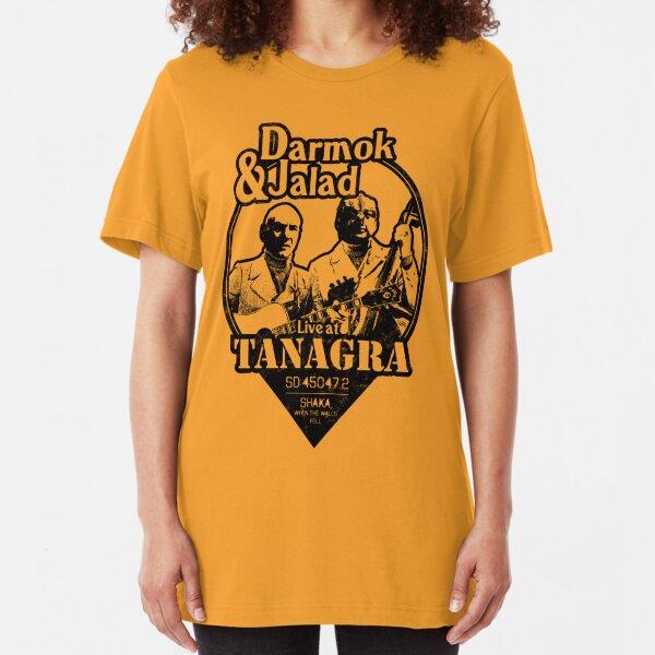 Darmok and Jalad at Tanagra! Slim Fit T-Shirt