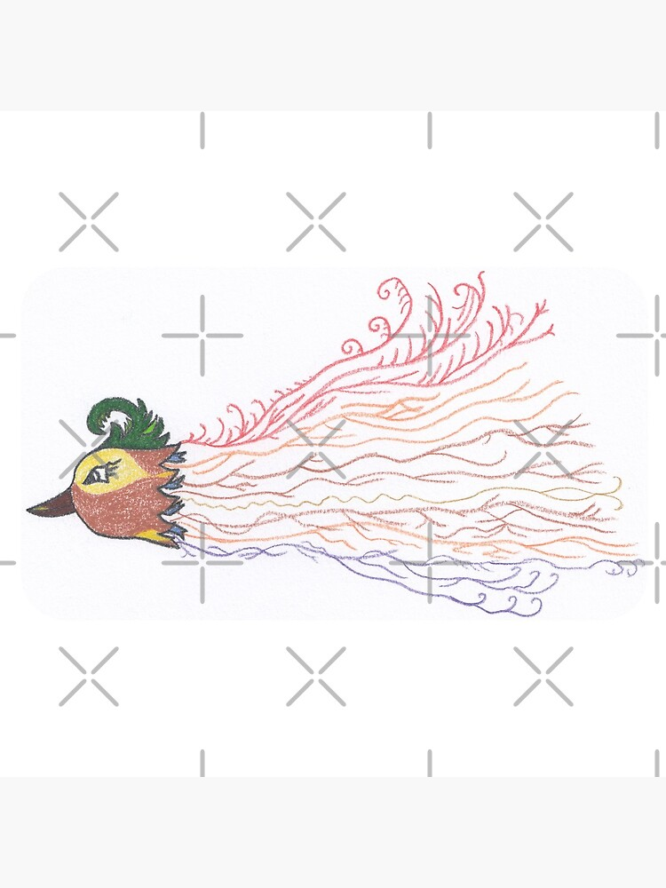 Merch #7 -- Tropical Feathered Flourish. by Naean