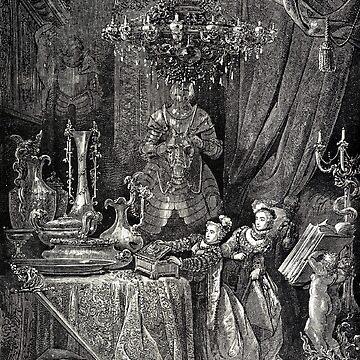 Bluebeard - Gustave Dore by forgottenbeauty
